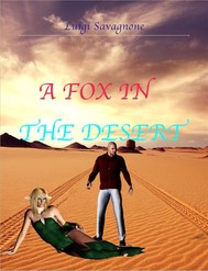 A fox in the desert - copertina