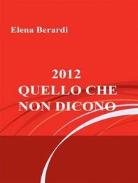 2012 - Quello che non dicono - Librerie.coop