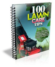 100 Lawn Care Tips - copertina