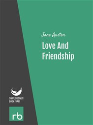Love And Friendship (Audio-eBook) - copertina