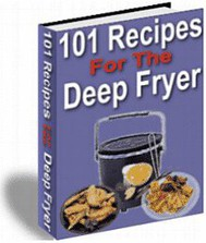 101 Recipes For The Deep Fryer - copertina