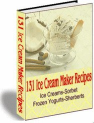131 Ice Cream Maker Recipes - copertina
