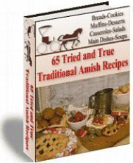 65 Amish Recipes    - copertina
