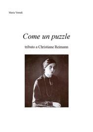 Come un puzzle tributo a Christiane Reimann - copertina