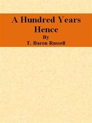 A Hundred Years Hence - copertina