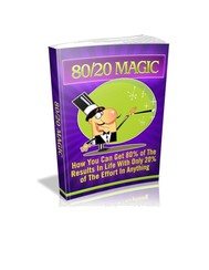 80/20 Magic - copertina