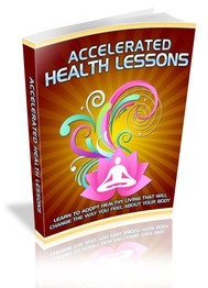Accelerated Health Lessons - copertina