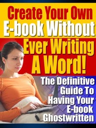 Create Your Own Ebook - copertina