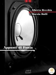 Appunti di Fonia - copertina