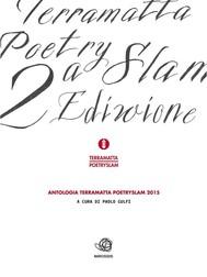 Antologia del TERRA MATTA Poetry Slam 2015 - copertina