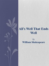 All's Well That Ends Well - copertina