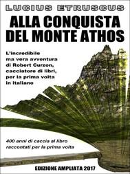 Alla conquista del Monte Athos - copertina