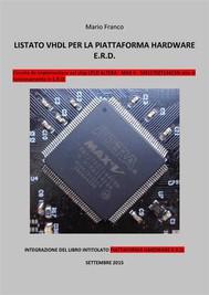 CPLD - Listato VHDL per la piattaforma hardware E.R.D. (PDF_38).  - copertina