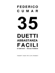 35 Duetti abbastanza facili - copertina