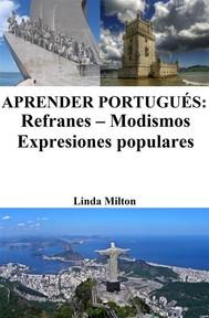 Aprender Portugués: Refranes ‒ Modismos ‒ Expresiones populares - copertina
