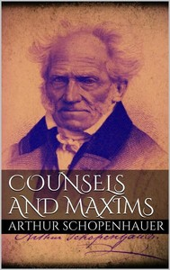 Counsels and Maxims - copertina