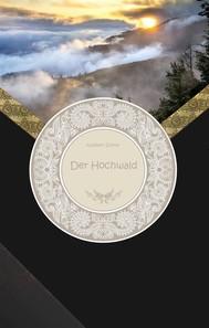 Der Hochwald - copertina