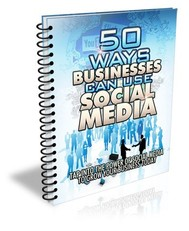 50 ways businesses can use social media - copertina