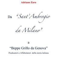Da Sant'Ambrogio da Milano a Beppe Grillo da Genova - copertina
