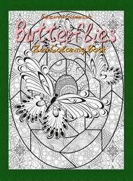 Butterflies: Zen Coloring Book - copertina