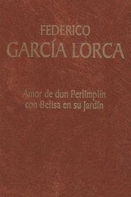 Amor de don Perlimplín con Belisa en su jardín - copertina