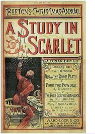 A Study in Scarlet - Sherlock Holmes #1 - copertina