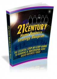 21st Century Home Business Strategy Blueprint - copertina