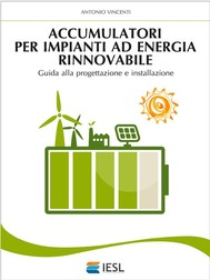 Accumulatori per impianti ad energia rinnovabile - copertina