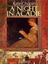 A Night in Acadie - copertina