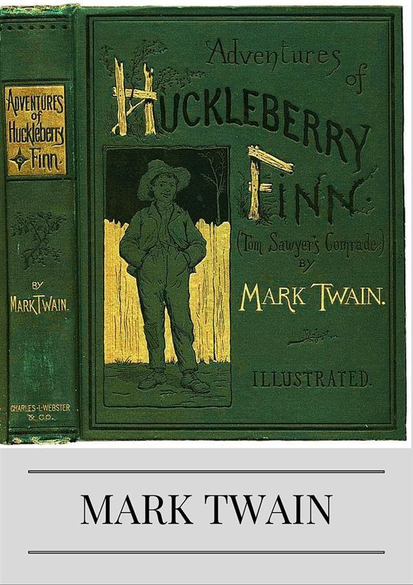 an analysis of living with the widow douglass in huckleberry finn by mark twain