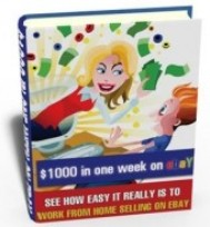 $1000 in a Week on eBay - copertina