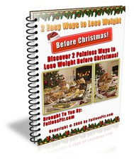 2 Easy Ways to Help You Lose Weight Before Christmas - copertina