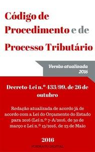 Código de Procedimento e de Processo Tributário 2016 - copertina