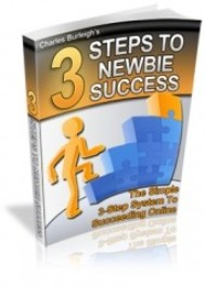 3 Steps To Newbie Success - copertina