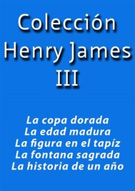 Colección Henry James III - copertina