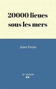 20000 lieues sous les mers - copertina