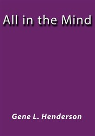 All in the Mind - copertina