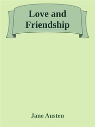 Love and Friendship - copertina