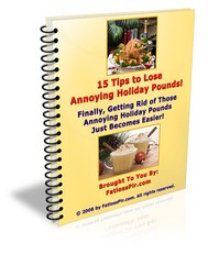 15 Tips to Lose Annoying Holiday Pounds! - copertina
