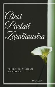 Ainsi Parlait Zarathoustra - copertina