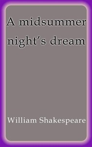 A midsummer night´s dream - copertina