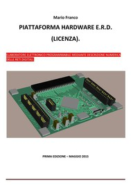 Alternativa ad Arduino - Piattaforma hardware E.R.D. (licenza). - copertina