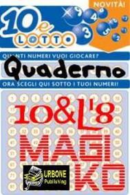 10&L8 Quaderno Magiko VERSIONE PDF - copertina