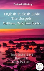 English Turkish Bible - The Gospels - Matthew, Mark, Luke and John - copertina