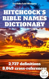 Hitchcock's Bible Names Dictionary - Librerie.coop