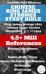 Chinese King James Strongs Study Bible - Librerie.coop