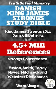 Danish King James Strongs Study Bible - Librerie.coop