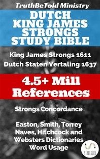 Dutch King James Strongs Study Bible - Librerie.coop