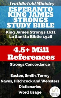 Esperanto King James Strongs Study Bible - Librerie.coop