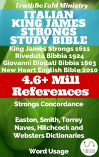 Italian King James Strongs Study Bible - Librerie.coop